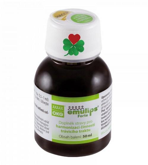 OKG Emulips Forte 50 ml - trávení, zácpa, hubnutí, žlučník, žaludek, játra,..