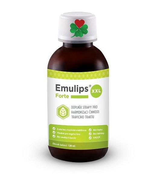 OKG Emulips Forte XXL 120 ml - trávení, zácpa, žlučník, hubnutí,, játra, žaludek, slinivka ...