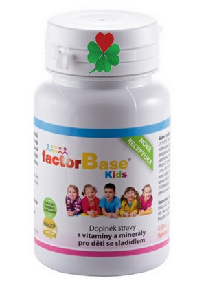 OKG Factor Base KIDS 60 ks vitamíny a minerály pro děti i dospělé
