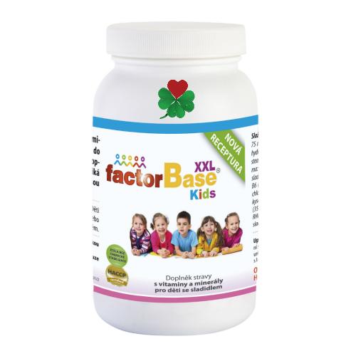 OKG Factor Base Kids XXL 180 tbl. - vitamíny, minerály, betaglukany