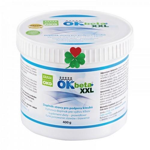 OK Beta+ XXL 400 g - pro zdravé klouby, odkyselení organizmu, rodinné balení