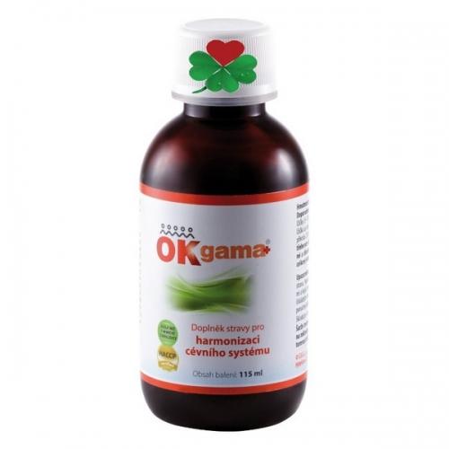 OKG OK Gama plus 115 ml - pohybová soustava, srdce, cévy