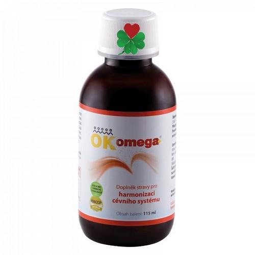 OKG OK OMEGA plus 115 ml - pleť, vlasy, nehty, menopauza,