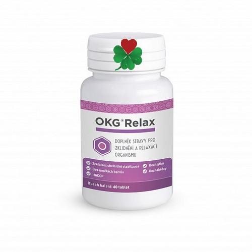 OKG Relax 60 tbl - bolesti hlavy, migrény, menopauza