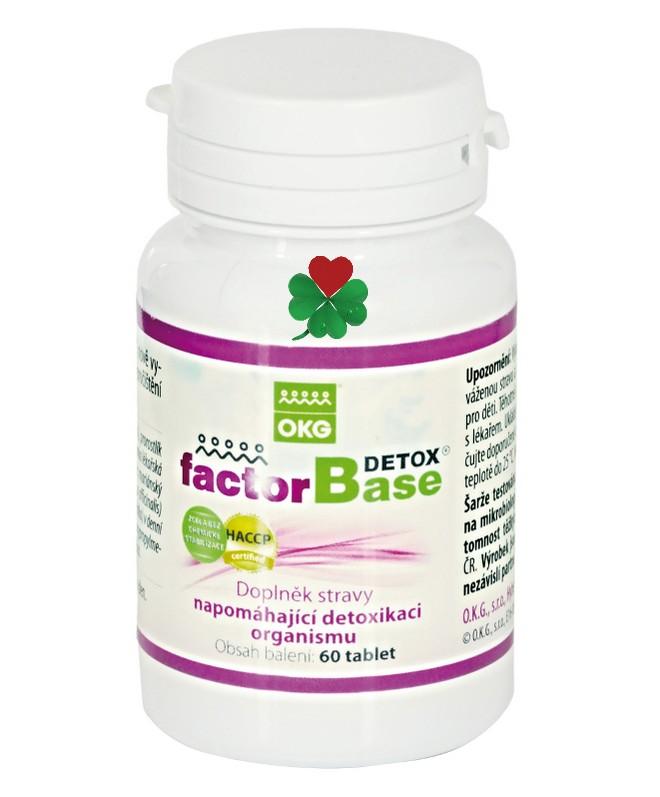 Factor Base Detox - přírodní detoxikace organismu