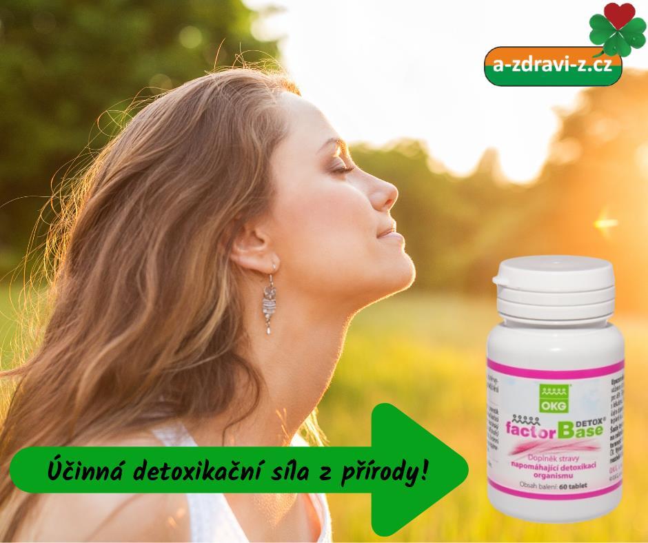 Factor Base Detox - detoxikace pomocí bylinek